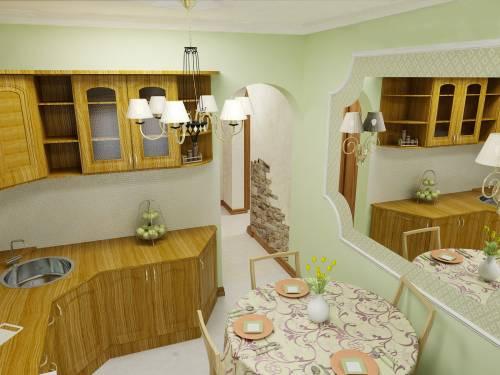Ремонт стен кухни в хрущевке своими руками