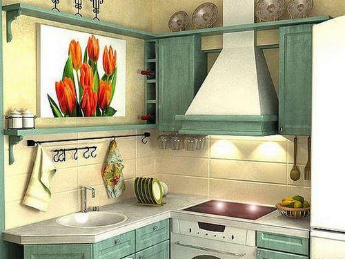 Дизайн кухни в хрущевке: учимся «раздвигать» помещение при помощи цвета, освещения, мебели и аксессуаров.