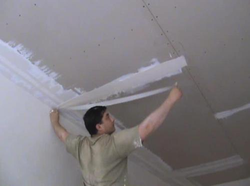 Финишная отделка ОСБ плит, гипсокартона: видео-инструкция, обшивка потолка, пола, стен, фото