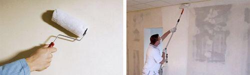 Грунтовка для стен под обои: какую выбрать, расход на м2, цена популярных марок