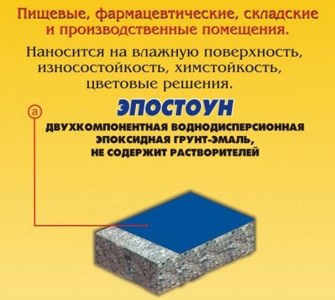 Износостойкая краска по бетону для пола для внутренних и наружных работ: технология, цена