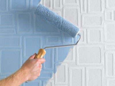 Какая краска лучше для обоев под покраску: видео-инструкция по окраске своими руками, палитра, фото