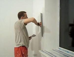 Нанесение шпаклевки на стену краскопультом: можно ли и как нанести финишную на гипсокартон или краску, видео-инструкция по монтажу своими руками, фото и цена