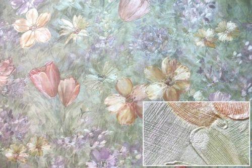Обои горячего тиснения на флизелиновой основе: виниловые покрытия, палитра, видео и фото