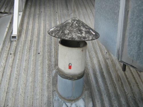 Окраска дымовой трубы: чем покрасить дымоход котельной. Видео и фото