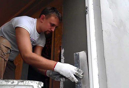 Оштукатуривание откосов пластиковых окон:технология проведения работ