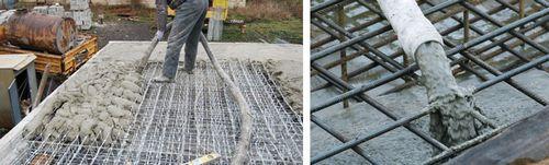заливка бетоном цена за куб