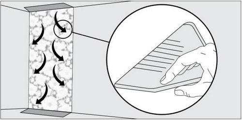 Шпатель для обоев: прижимной, пластиковый и другие, инструкция по выбору, видео и фото