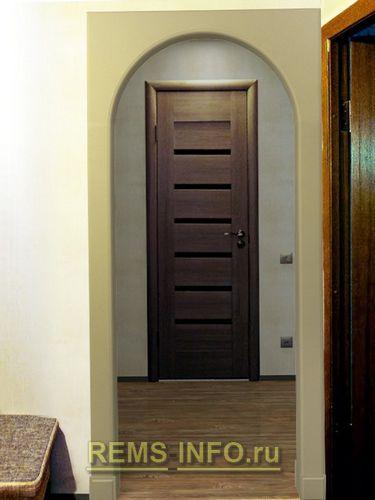Установка арки в дверном проеме - доступно всем желающим