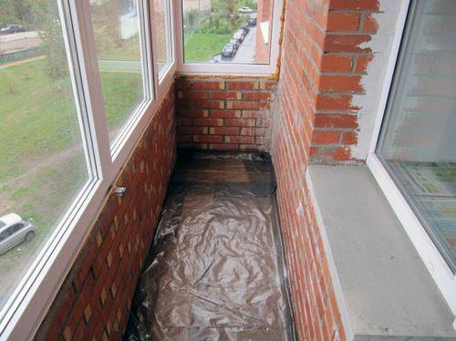 Утепление балкона пеноплексом своими руками - инструкция!.
