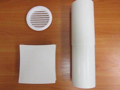 Вентиляционный клапан в стене: модели и установка