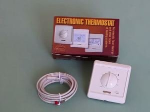 Как сделать электрический теплый пол под плитку своими руками - иллюстрированные инструкции