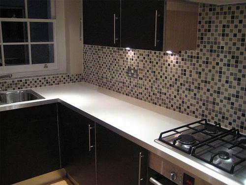 кухни с фартуком из мозаики фото
