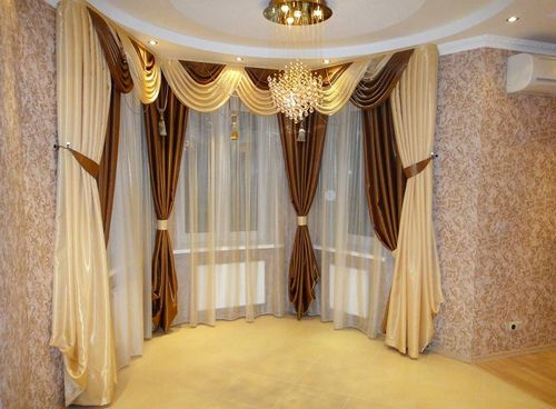 Картинки шторы для зала в современном стиле фото
