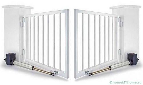 Автоматические ворота с дистанционным открытием: цена и монтаж