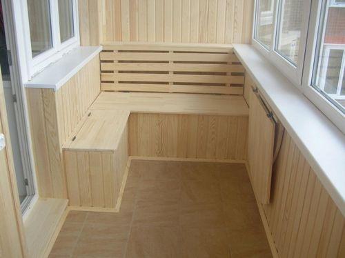 Балконы: отделка, интересные идеи + фото