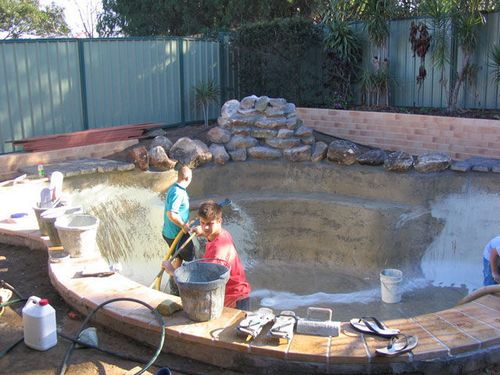 Бассейн на даче своими руками: фото, схема, видео инструкция
