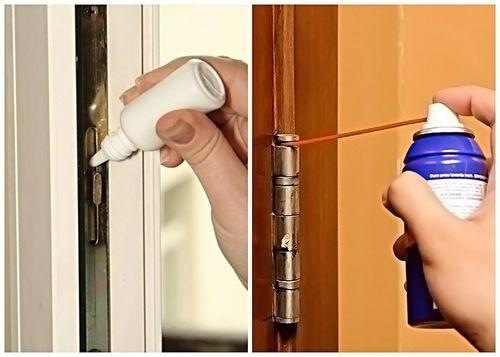 Чем смазать дверь, чтобы не скрипела: опыт профессионалов