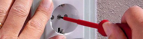 Демонтаж, ремонт и замена розеток и выключателей: как найти обрыв проводки прибором