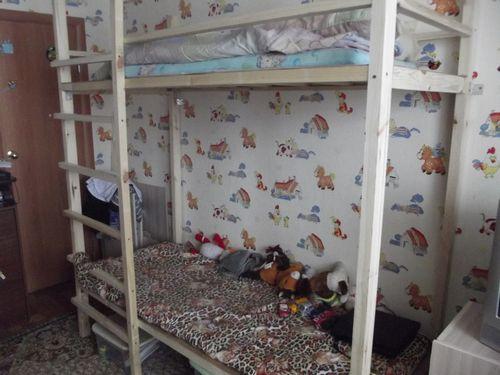 Детская двухъярусная кровать своими руками: чертежи, фото и пошаговая инструкция