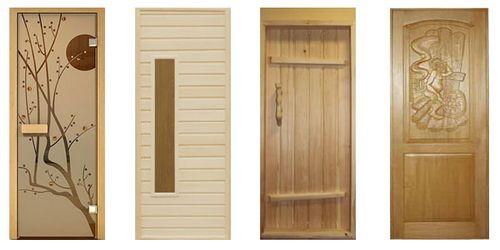 Дверь в баню своими руками: как сделать