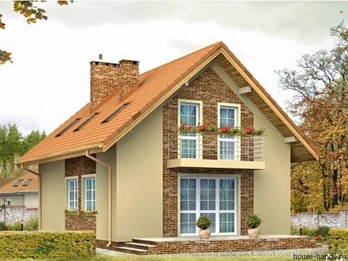 Двухскатная мансардная крыша своими руками: фото, чертежи