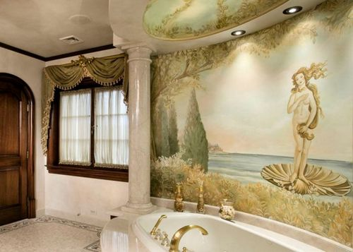 Фотообои фрески на стену: фото. Как сделать фреску из фотообоев - ЭтотДом