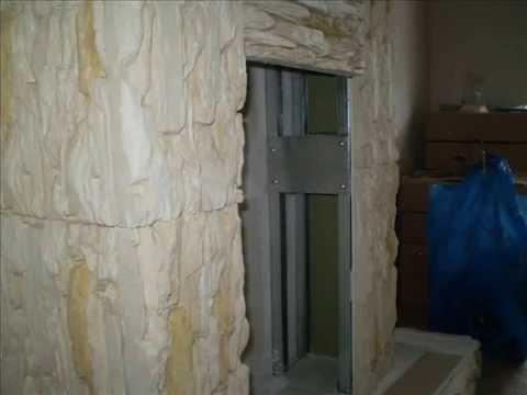 Облицовка камина из гипсокартона своими руками: фото, видео инструкция