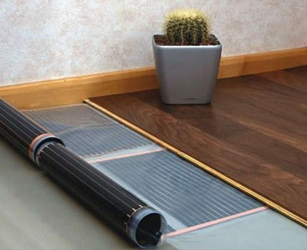 Инфракрасный карбоновый теплый пол: устройство +типы монтажа