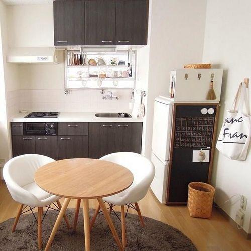 Интерьер маленькой кухни: 15 фото идей