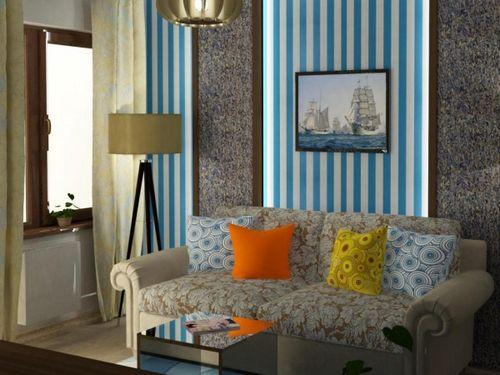 Интерьер в морском стиле: как обустроить комнату самостоятельно?