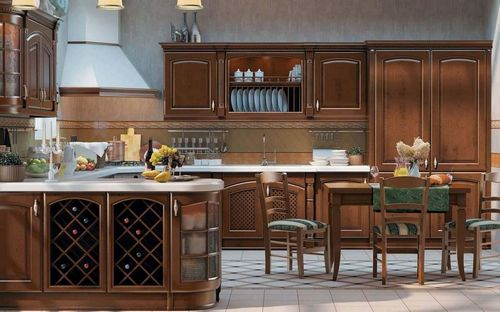 Итальянские фасады для кухни из массива: элитные, Италии, российские, дорогие, премиум класса, фото, видео