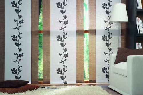 Японские шторы (51 фото): интерьер в этническом стиле