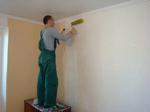 Как грунтовать стены под обои