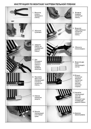 Инфракрасный теплый пол - плюсы и минусы, инструкция по укладке