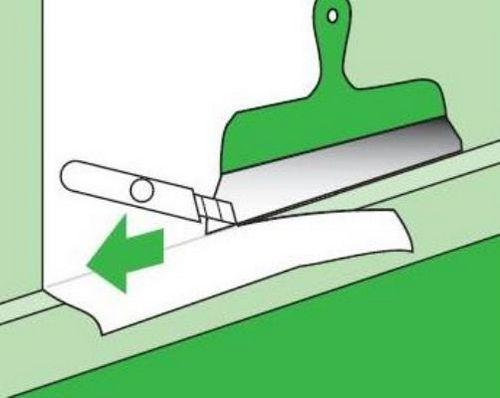 Как правильно клеить бумажные обои? Поклейка настенного покрытия, как наклеить тисненые обои «дуплекс»: внахлест или встык