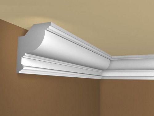 Как прикрепить потолочный плинтус к натяжному потолку