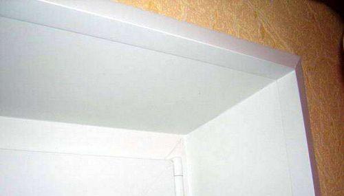 Как сделать откосы входной двери