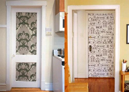 Как украсить дверь самому: фото