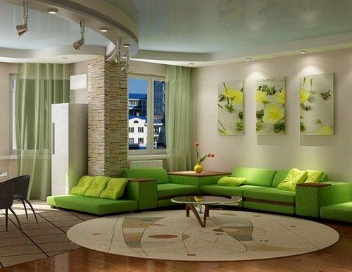 Как визуально увеличить комнату и потолок?