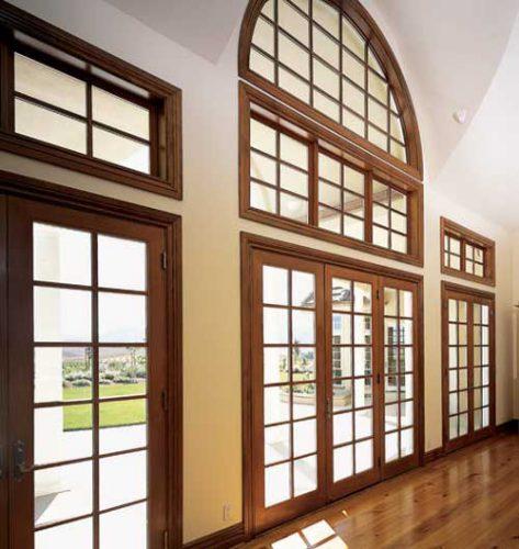 Капитальные и декоративные оконные переплеты способны создать крепость конструкции