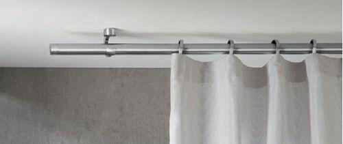 Карнизы для штор потолочные металлические - виды и особенности