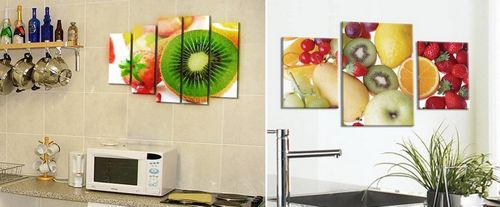 Картинки на кухню на стену: распечатать красивые прикольные картинки, своими руками, фотообои с фруктами, фото