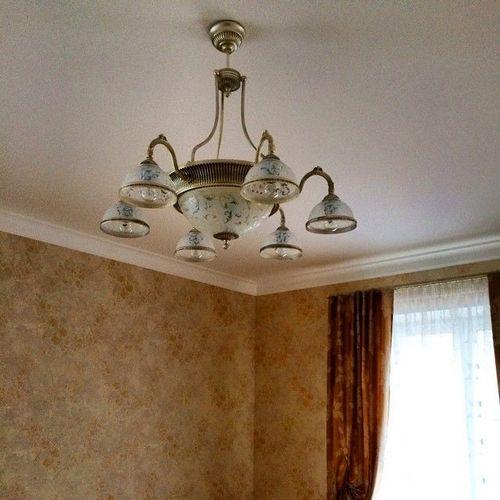 Люстры для гостиной: 20 фото