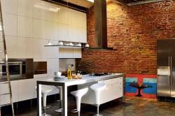 Лофт стиль в интерьере кухни своими руками (фото)