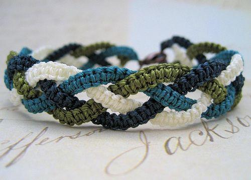 Браслеты своими руками схемы плетения для начинающих