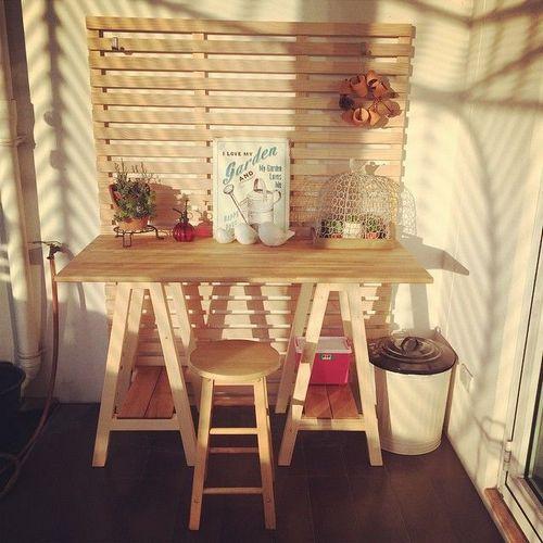 Мебель для лоджии: 15 фото идей