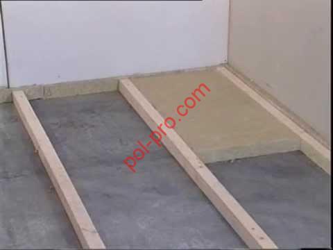 Монтаж деревянного пола своими руками, видео