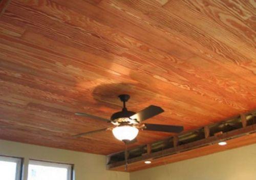 Монтаж деревянной вагонки на потолок - как он выполняется?