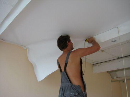 Натяжные потолки матерчатые - особенности, преимущества и недостатки